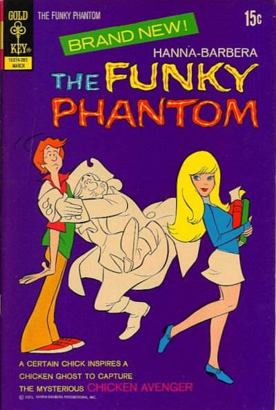 Hanna-Barbera The Funky Phantom Vol 1 1