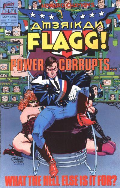 Howard Chaykin's American Flagg Vol 1 1