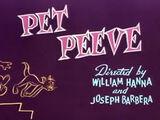 Pet Peeve (1954 film)