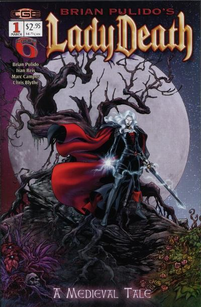 Brian Pulido's Lady Death: A Medieval Tale Vol 1 1