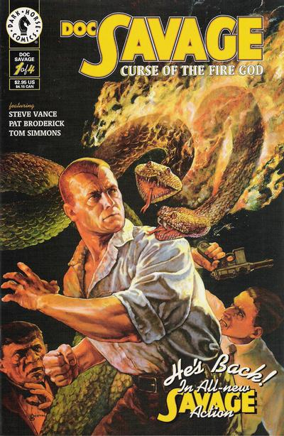 Doc Savage: Curse of the Fire God Vol 1 1