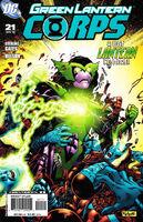 Green Lantern Corps Vol 2 21