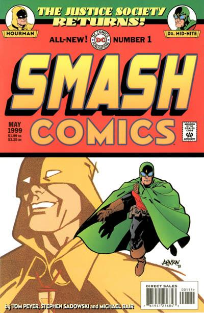 JSA Returns: Smash Comics Vol 1 1