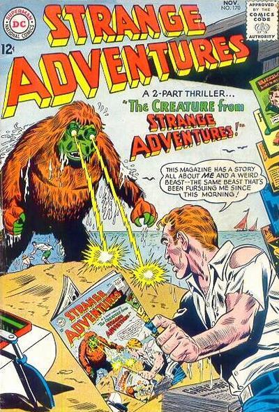 Strange Adventures Vol 1 170