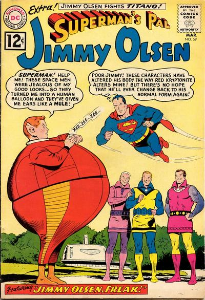 Superman's Pal, Jimmy Olsen Vol 1 59