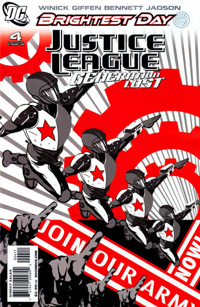 Justice League: Generation Lost Vol 1 4