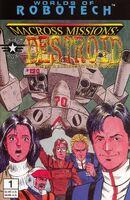 Robotech Macross Missions Destroid Vol 1 1