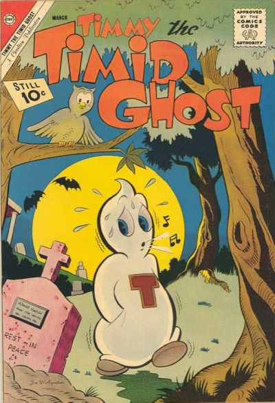 Timmy the Timid Ghost Vol 1 31