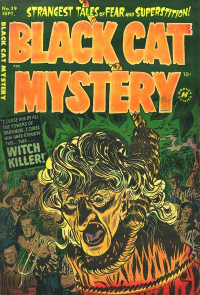 Black Cat Comics Vol 1 39