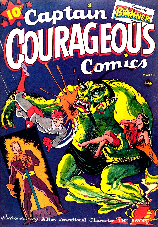 Captain Courageous Comics Vol 1 6