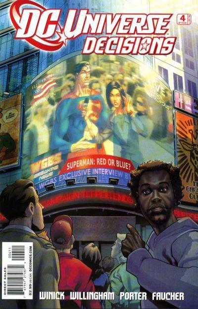 DC Universe: Decisions Vol 1 4