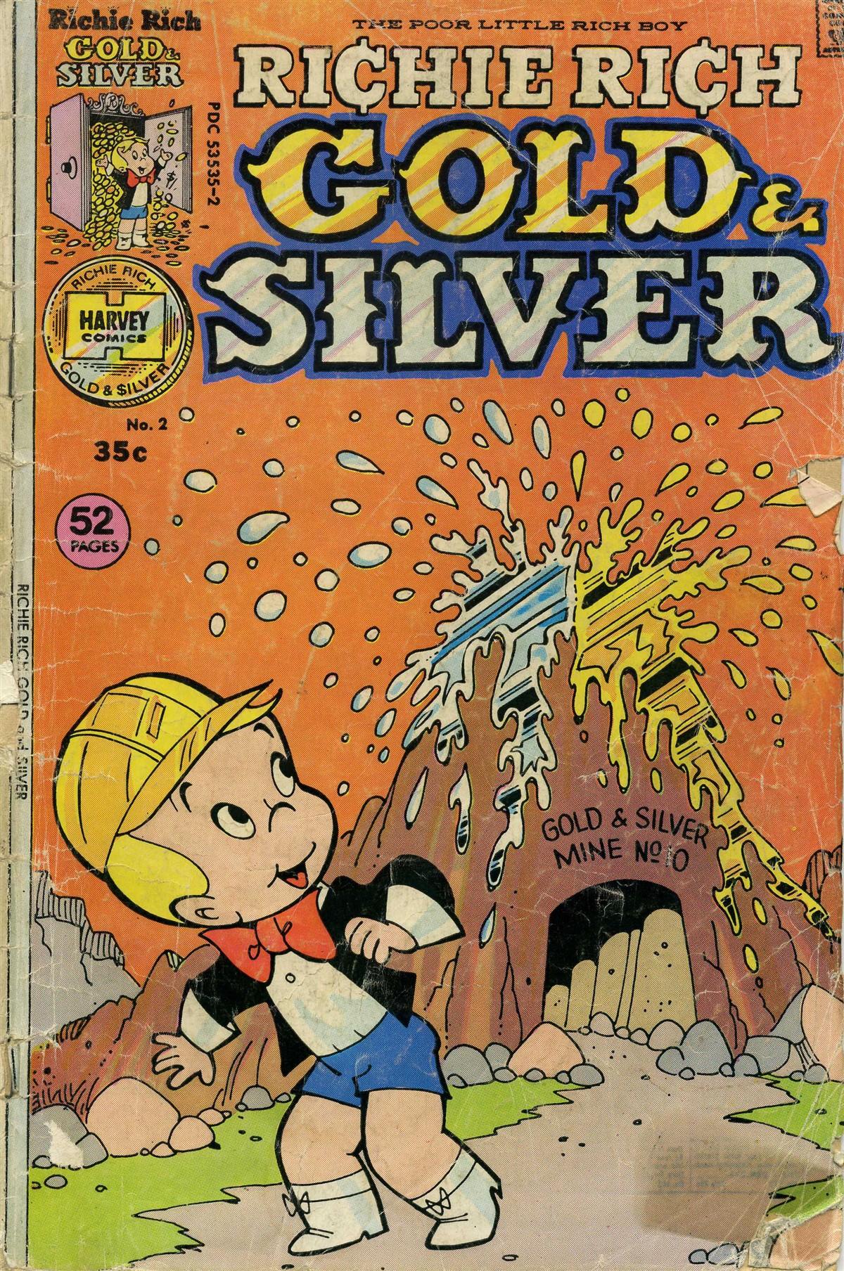 Richie Rich Gold & Silver Vol 1 2