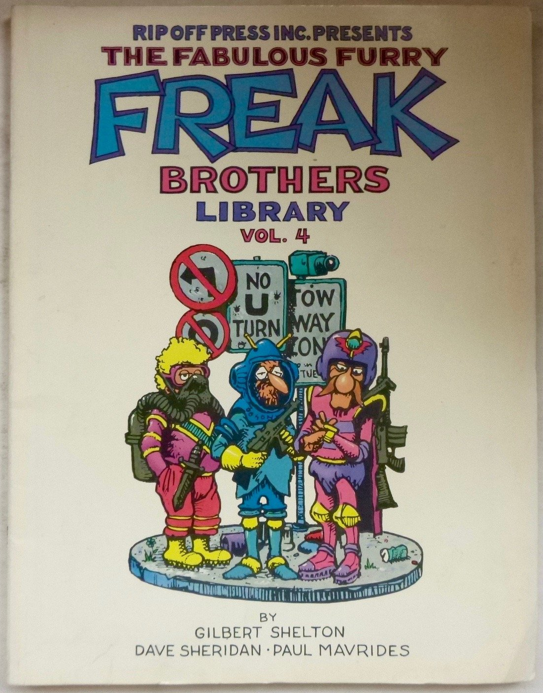 The Fabulous Furry Freak Brothers Library Vol 1 4
