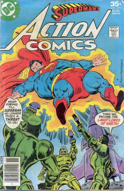Action Comics Vol 1 477