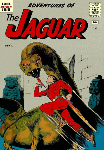 Adventures of the Jaguar Vol 1 1