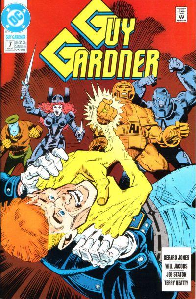 Guy Gardner Vol 1 7