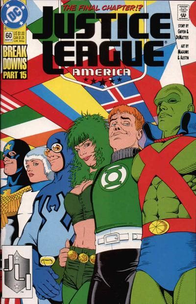Justice League America Vol 1 60