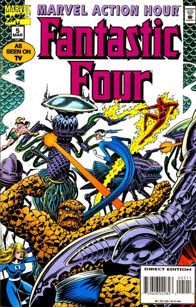 Marvel Action Hour, Featuring the Fantastic Four Vol 1 5