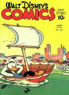 Walt Disney's Comics and Stories Vol 1 9