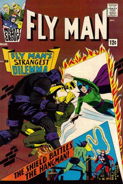 Fly Man Vol 1 36