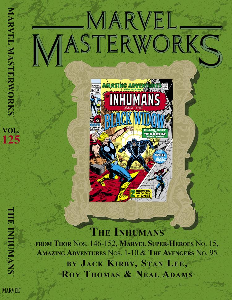 Marvel Masterworks Vol 1 125