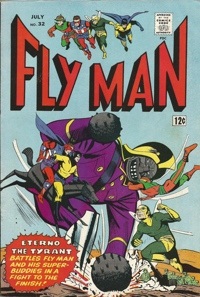 Fly Man Vol 1 32