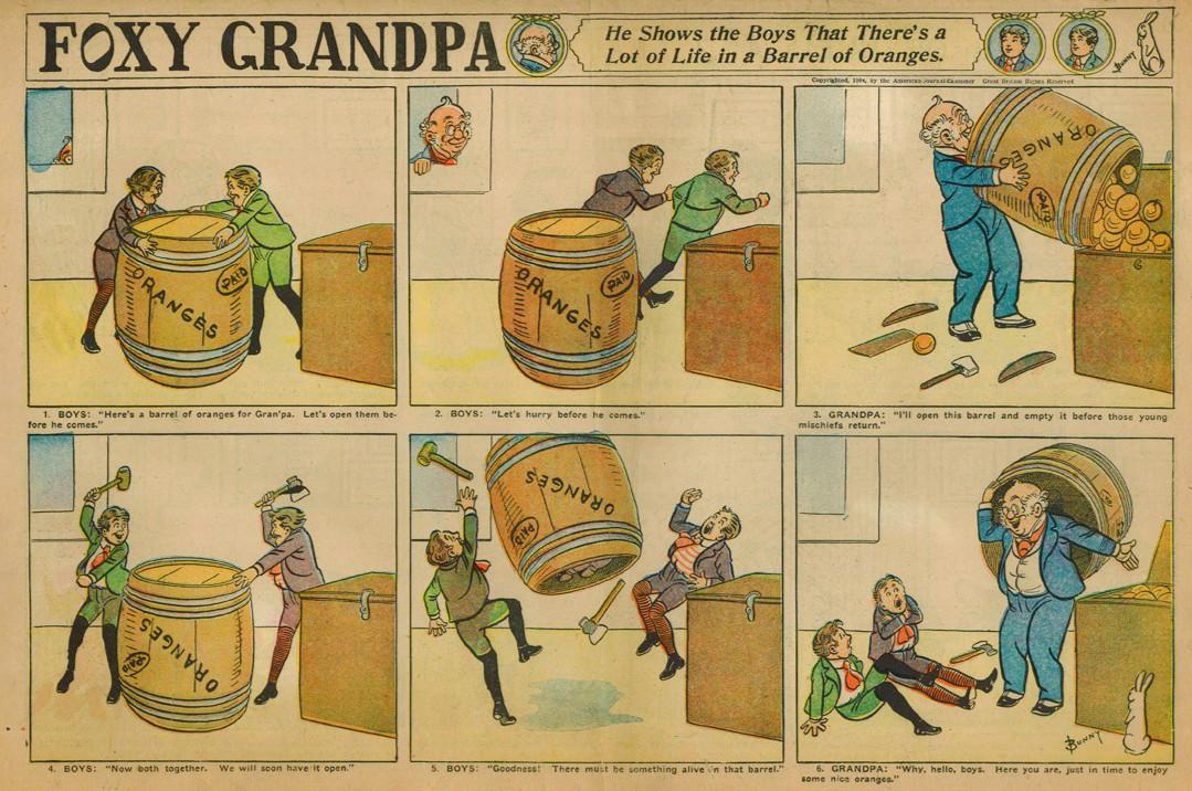 Foxy Grandpa