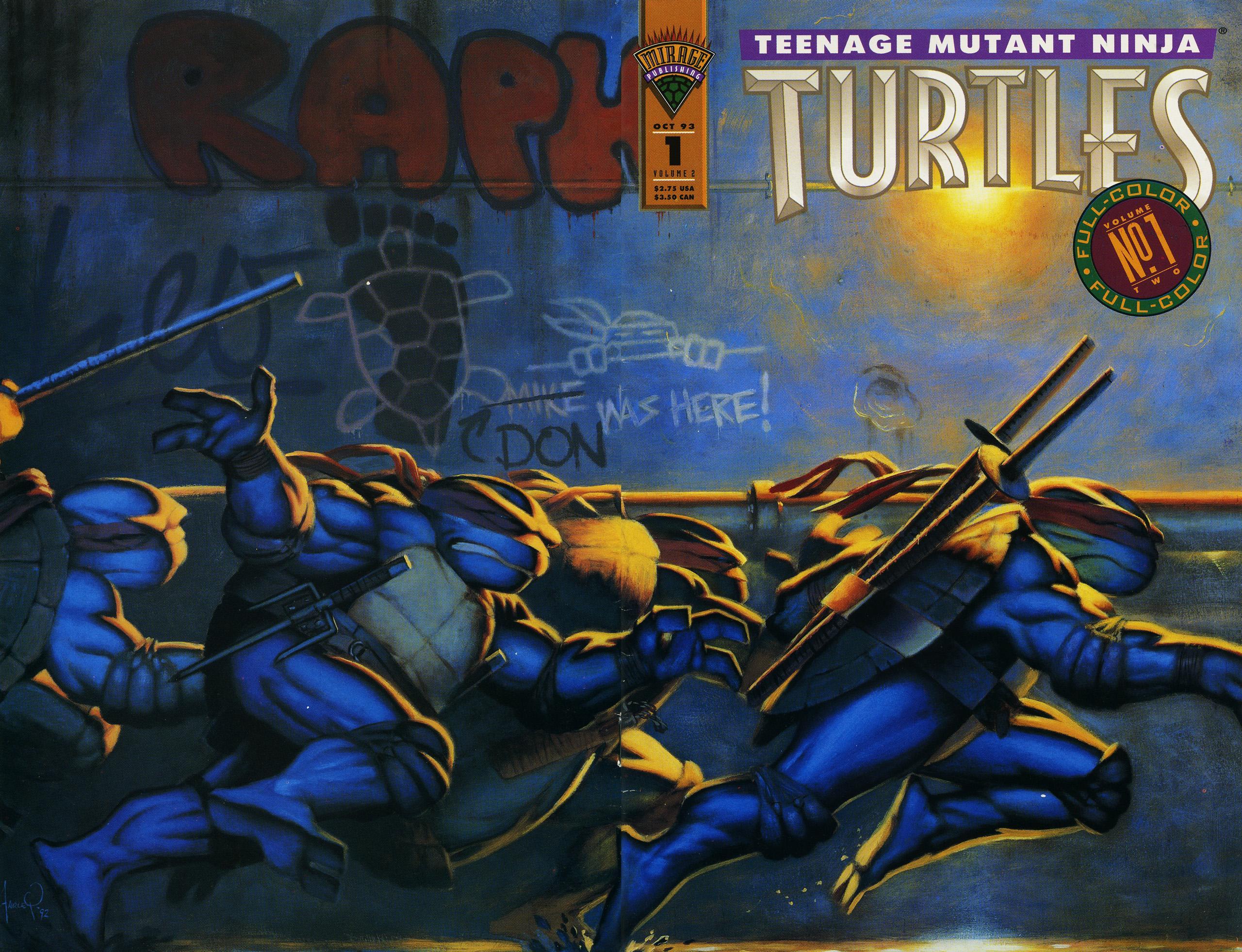 Teenage Mutant Ninja Turtles Vol 2