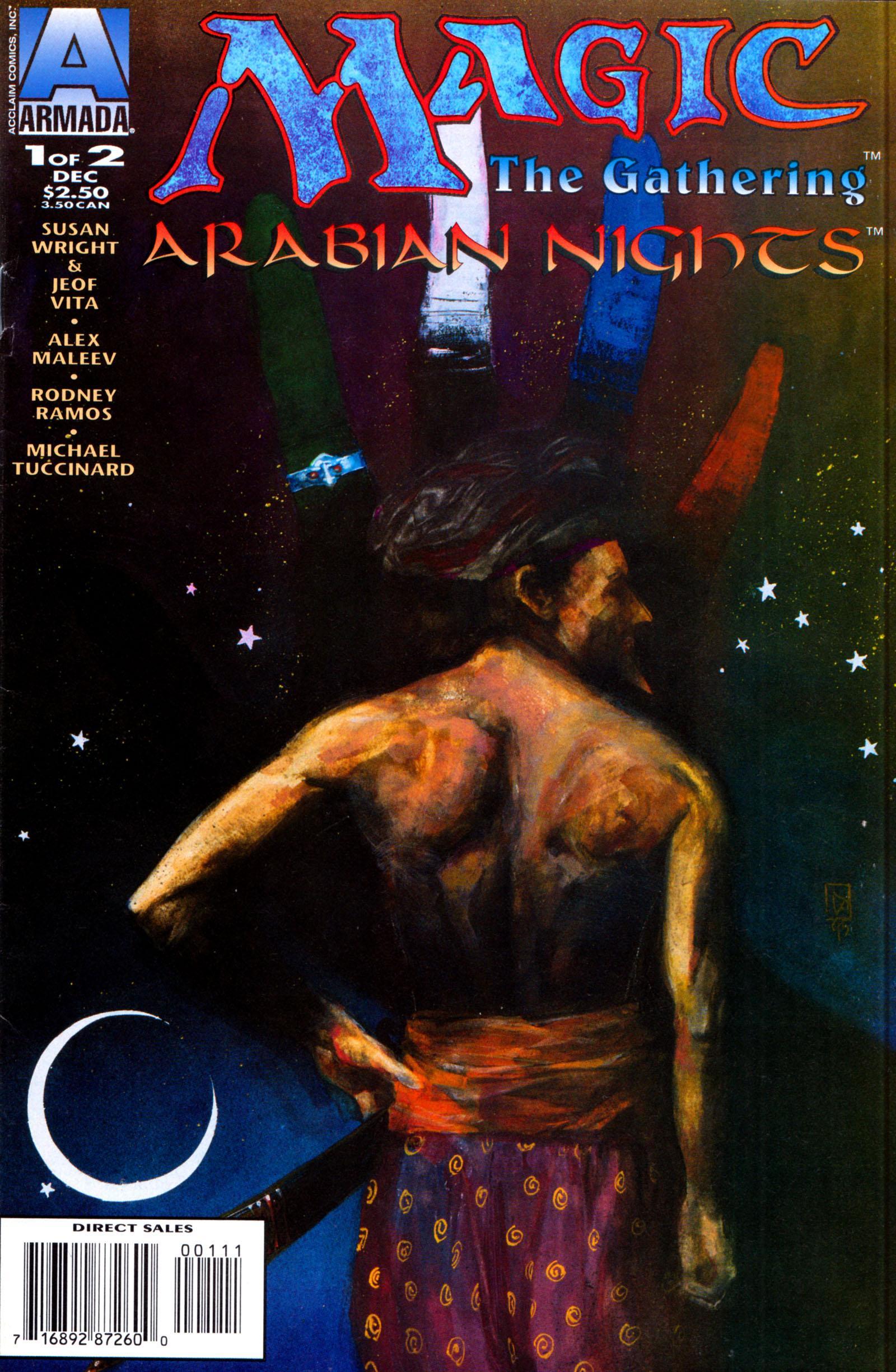 Arabian Nights on the World of Magic: The Gathering Vol 1 1