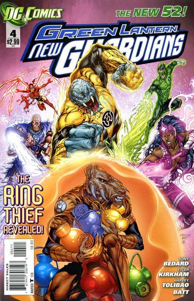 Green Lantern: New Guardians Vol 1 4