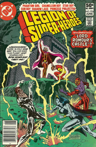Legion of Super-Heroes Vol 2 276