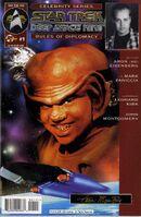 Star Trek Deep Space Nine, The Celebrity Series The Rules of Diplomacy Vol 1 1
