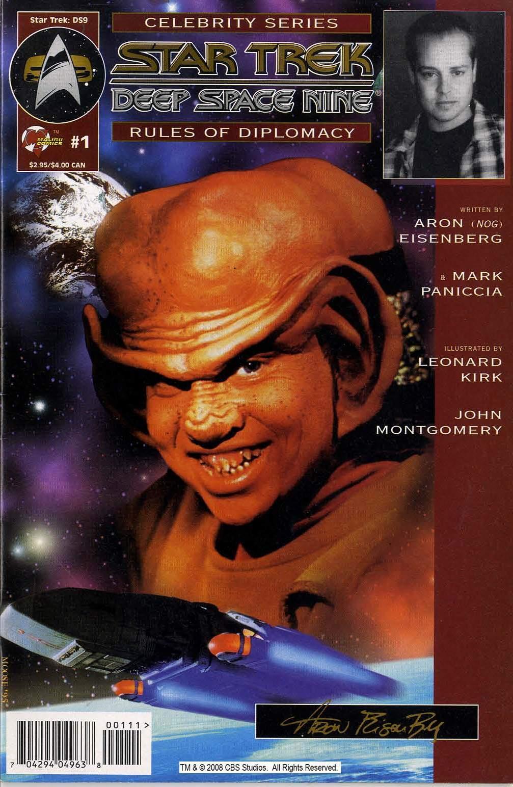 Star Trek: Deep Space Nine, The Celebrity Series: The Rules of Diplomacy Vol 1 1