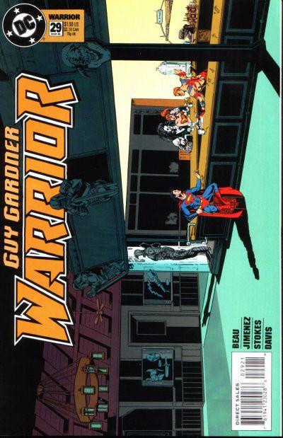 Guy Gardner: Warrior Vol 1 29