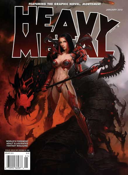 Heavy Metal Vol 33 9
