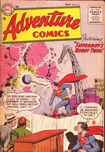 Adventure Comics Vol 1 212