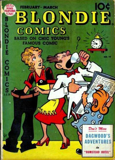 Blondie Comics Vol 1 10