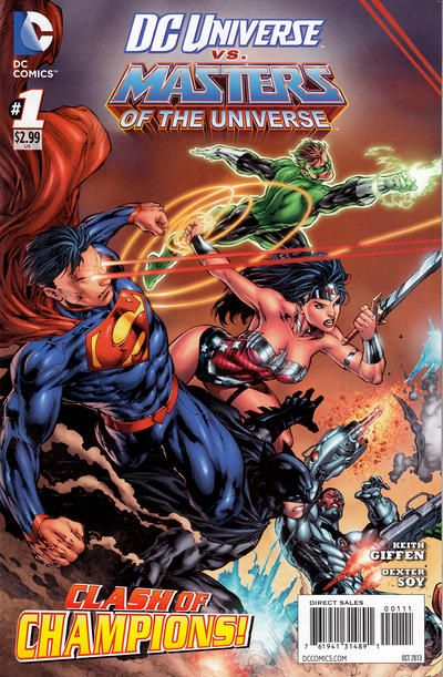 DC Universe vs. The Masters of the Universe Vol 1