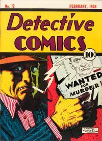 Detective Comics Vol 1 12