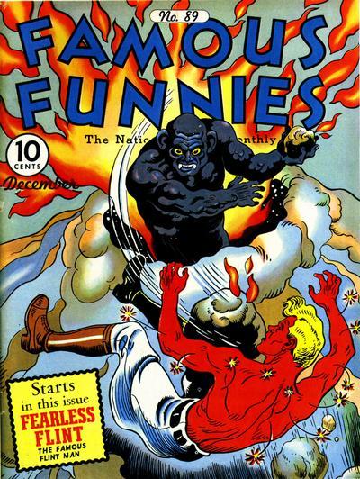 Famous Funnies Vol 1 89