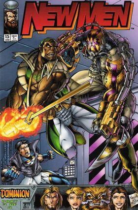 Cover for New Men #15 (1995)