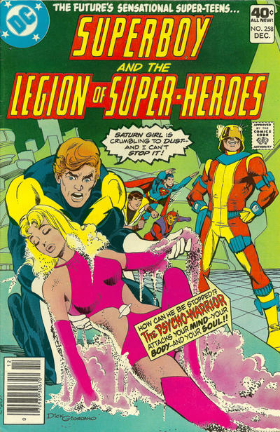 Superboy and the Legion of Super-Heroes Vol 1 258