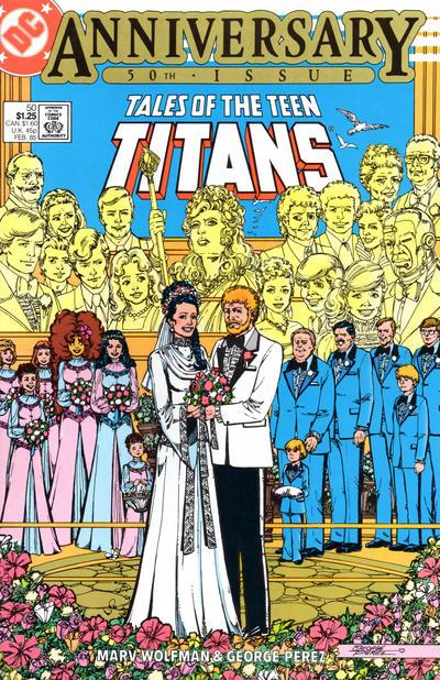 Tales of the Teen Titans Vol 1 50