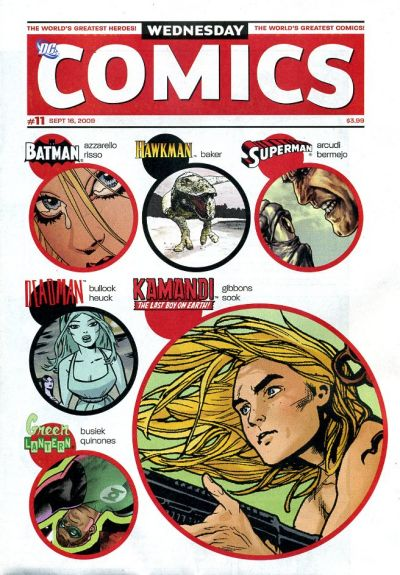 Wednesday Comics Vol 1 11