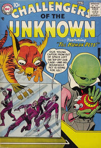 Challengers of the Unknown/Covers