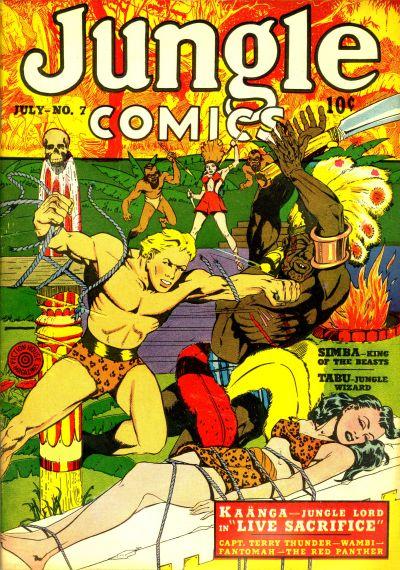 Jungle Comics Vol 1 7
