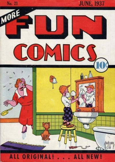 More Fun Comics Vol 1 21