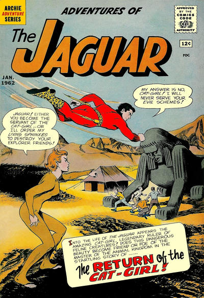 Adventures of the Jaguar Vol 1 4