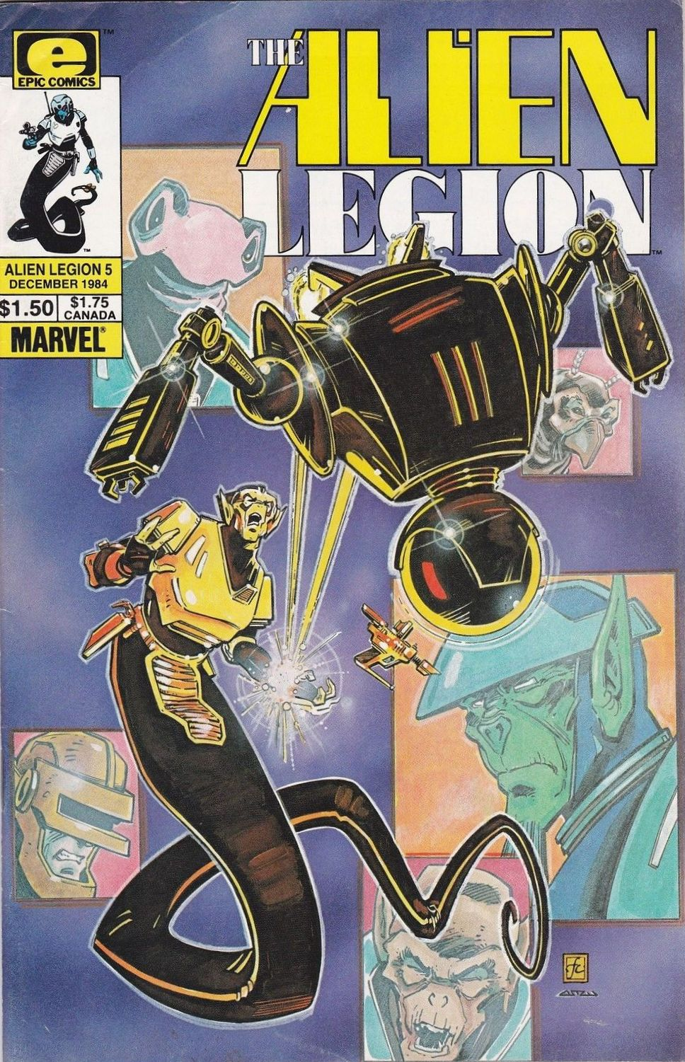 Alien Legion Vol 1 5