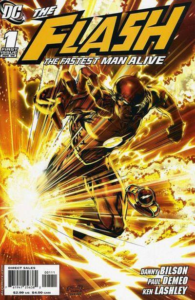 Flash: The Fastest Man Alive Vol 1 1